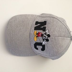 046a256425fef4 Disney Accessories | Caphat Nwt Mickey Mouse Nc Gray | Poshmark